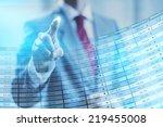 stock concept business man...   Shutterstock . vector #219455008