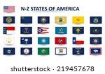 n z states of america | Shutterstock .eps vector #219457678