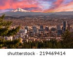 Sunrise View Of Portland ...