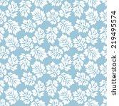 seamless acanthus leaves...   Shutterstock .eps vector #219495574