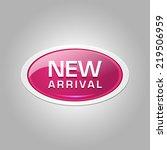 new arrival glossy shiny... | Shutterstock .eps vector #219506959