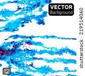 watercolor vector background.... | Shutterstock .eps vector #219514060