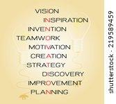 concept of innovation | Shutterstock .eps vector #219589459
