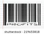 product  bar code design with... | Shutterstock . vector #219653818