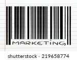 product  bar code design with... | Shutterstock . vector #219658774