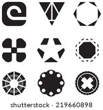 set of business icons   Shutterstock .eps vector #219660898