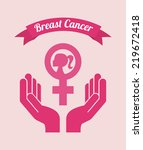 breast cancer graphic design  ... | Shutterstock .eps vector #219672418