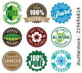 Set Of Vector Vintage Labels