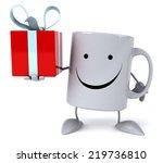 fun mug   Shutterstock . vector #219736810