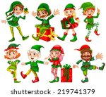 Illustration Of Many Elfs With...