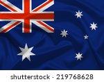 australia flag | Shutterstock . vector #219768628