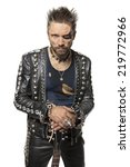 European Man In Leather...