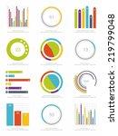 set of infographics elements | Shutterstock .eps vector #219799048