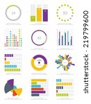 set of infographics elements | Shutterstock .eps vector #219799600