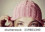 Winter Soon Or Knitted Hat ...