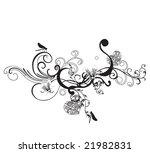 illustration of a decorative... | Shutterstock .eps vector #21982831
