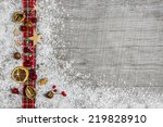 Christmas Wooden Background ...