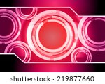 light abstract technology...   Shutterstock .eps vector #219877660