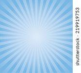 blue color burst background....   Shutterstock .eps vector #219919753
