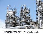 oil refineries plant. | Shutterstock . vector #219932068