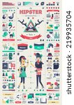 hipster infographic elements ... | Shutterstock .eps vector #219935704