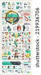 snowboard and ski infographic... | Shutterstock .eps vector #219936706