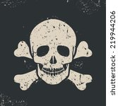 Vector Illustration Off Skull...
