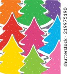 decorative background with... | Shutterstock .eps vector #219975190