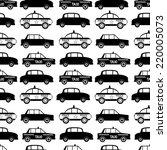 seamless car pattern on white... | Shutterstock .eps vector #220005073