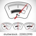 Постер, плакат: Gauge dial measure benchmark