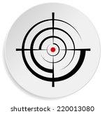 crosshair  reticle  viewfinder  ... | Shutterstock .eps vector #220013080
