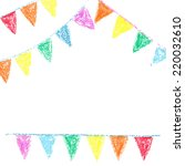 Wax Crayon Party Bunting ...