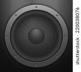sound speaker background....   Shutterstock .eps vector #220038076