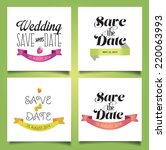 vector illustration. wedding...   Shutterstock .eps vector #220063993