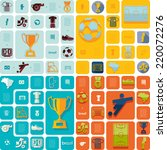football  soccer infographic | Shutterstock . vector #220072276