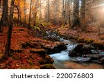 Mountain River In Late Autumn....