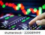 stock analyzing | Shutterstock . vector #220089499