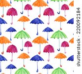 seamless pattern with... | Shutterstock . vector #220092184