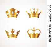 crown | Shutterstock .eps vector #220140808
