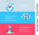 education learning knowledge... | Shutterstock .eps vector #220147390
