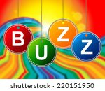 buzz internet indicating world... | Shutterstock . vector #220151950