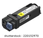 a laser printer toner cartridge ... | Shutterstock .eps vector #220152970