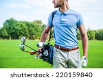 golf is a style of living....   Shutterstock . vector #220159840