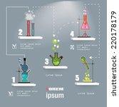 chemistry laboratory...   Shutterstock .eps vector #220178179