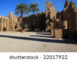 karnak temple in egypt  famous... | Shutterstock . vector #22017922