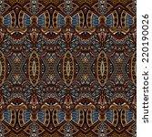 tribal vintage ethnic seamless... | Shutterstock .eps vector #220190026