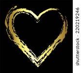 vector illustration of golden...   Shutterstock .eps vector #220219246