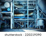 internal structure of large... | Shutterstock . vector #220219390