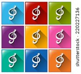 illustration of the buttons...   Shutterstock .eps vector #220227136
