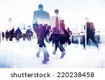abstract image of business... | Shutterstock . vector #220238458